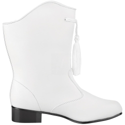 Style Plus™ - 1225 - Traditional Leather Majorette Boot - White