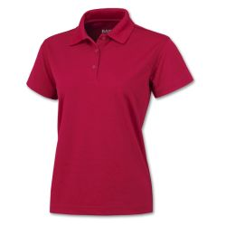BAW Athletic Wear™ - CT281L - Solid Cool-Tek Polo - Ladies
