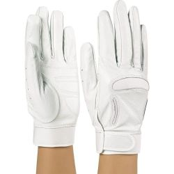 Style Plus� - Drum Major Pro Leather Gloves - White