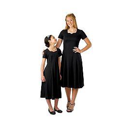 Cousin's Concert Attire - 403 - Valentina Dress - Black