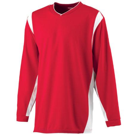 Augusta Sportswear� - 4600 - Wicking Long Sleeve Warmup Shirt - Adult