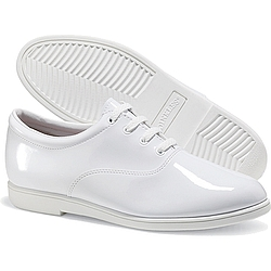 DINKLES® - 606 - Formal Marching Band Shoe - White Patent