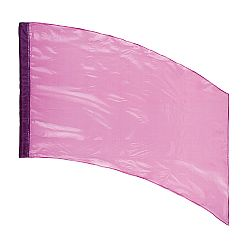 DSI™ - (Made To Order) - Solid Crystal Clear Flag - Lavender