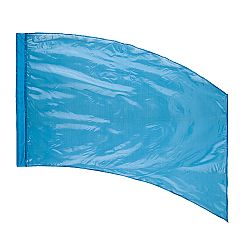 DSI™ - (Made To Order) - Solid Crystal Clear Flag - Deep Turquoise