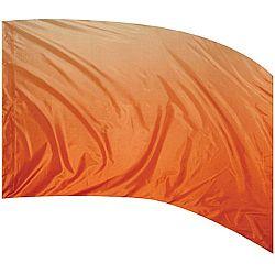 Style Plus™ - Shaded Poly China Silk Flag - Orange