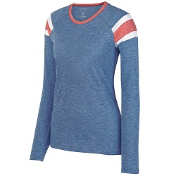 Augusta Sportswear™ - 3012 - Fanatic Long Sleeve Tee - Ladies
