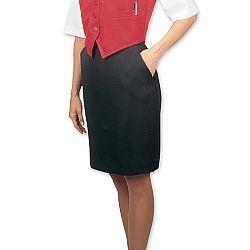 Henry Segal - 6100 - Ladies Basic Skirt (Above The Knee) - Black