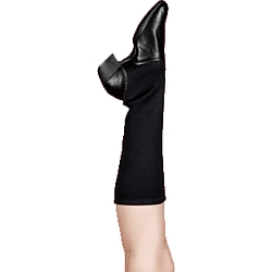 Happy Feet™ - GoGo Flexor Dance Boot - Black