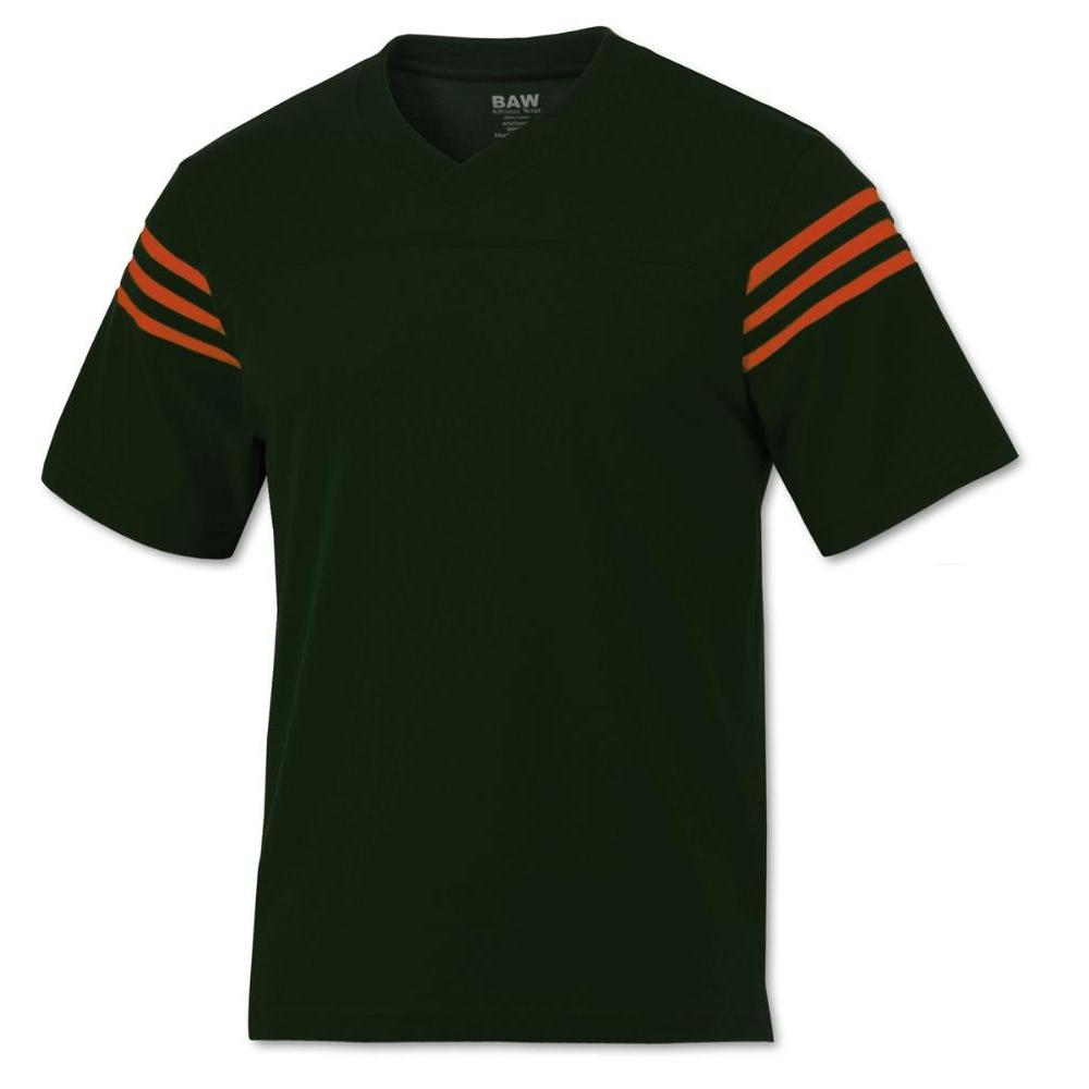 green and orange jersey